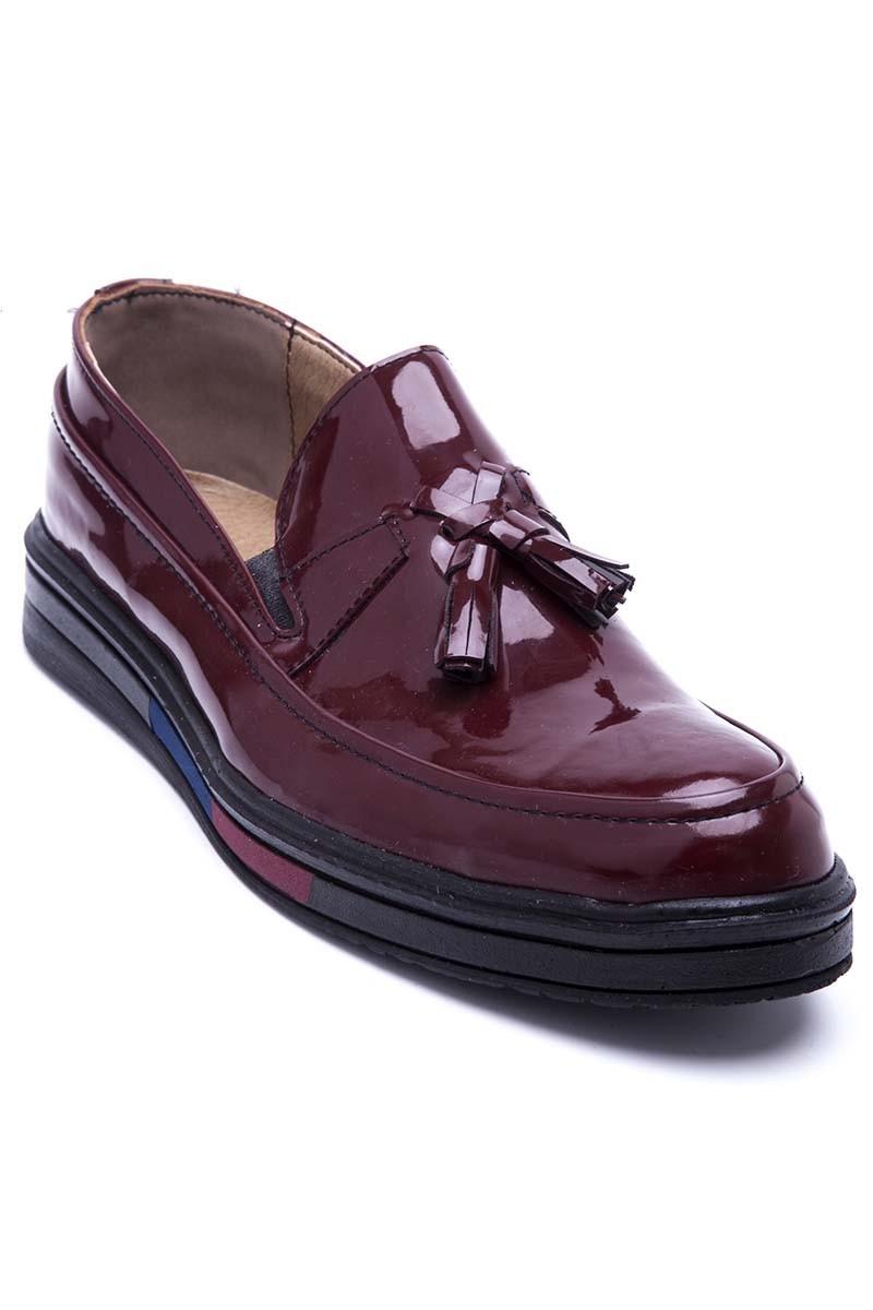 Polomen Bordo PLM-020-RGN Erkek Ayakkabı