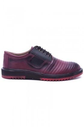 Polomen Bordo PLM-018-DERI Erkek Ayakkabı