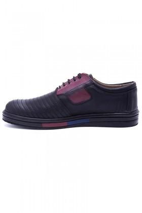 Polomen Siyah PLM-017-DERI Erkek Ayakkabı
