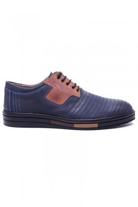 Polomen Lacivert-Taba PLM-016 Erkek Ayakkabı