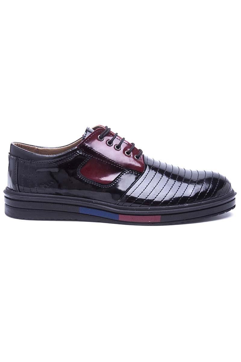 Polomen Siyah PLM-015-RGN Erkek Ayakkabı