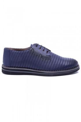Polomen Lacivert PLM-011-DERI Erkek Ayakkabı