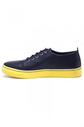BLUESOIL Sarı-Lacivert BS-20-FB-1 Erkek Ayakkabı