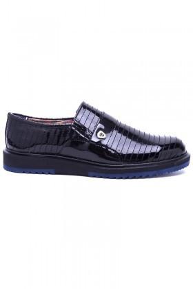 Polomen Siyah PLM-023-RGN Erkek Ayakkabı