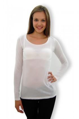 Yeni Elbisem Beyaz YEE-4101 Bayan Bluz