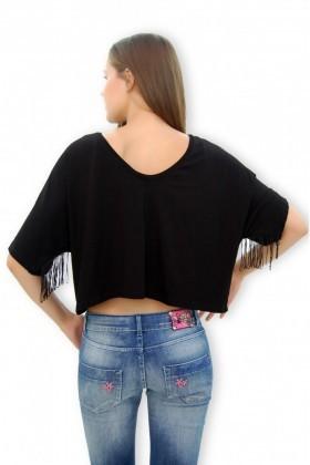 Yeni Elbisem Siyah YEE-4076 Bayan Bluz