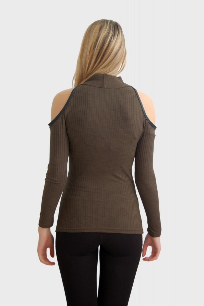 Yeni Elbisem Haki YEE-2511 Bayan Bluz