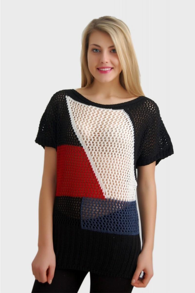 Yeni Elbisem Karışık Renkli YEE-2387 Bayan Bluz