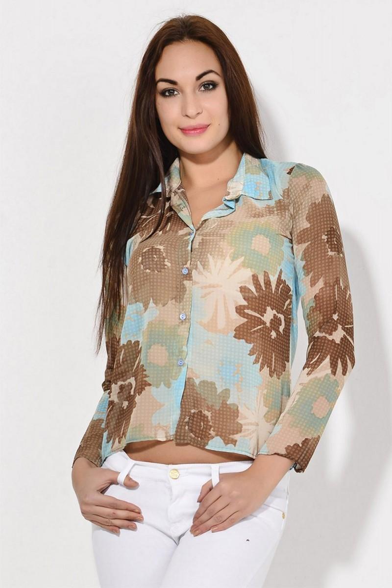 Yeni Elbisem Bej YEE-2103 Bayan Gömlek