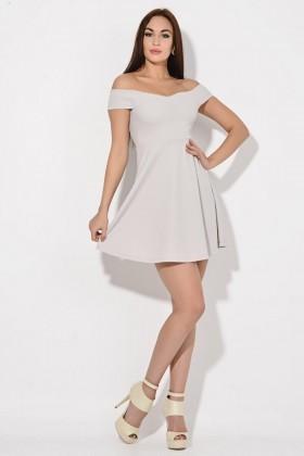 Yeni Elbisem Bej YEE-2084 Bayan Elbise