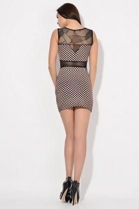 Yeni Elbisem Bordo YE-16728 Bayan Elbise