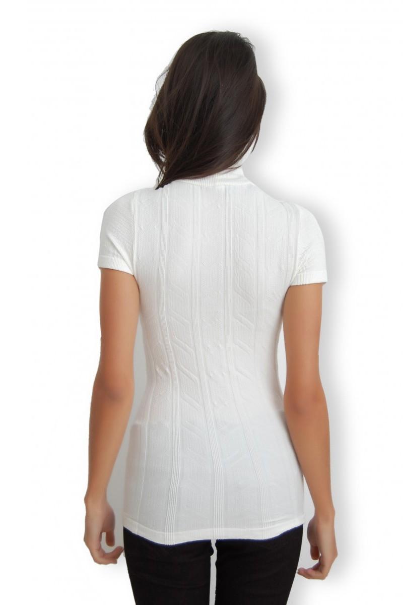 Yeni Elbisem Beyaz YE-7008 Bayan Body