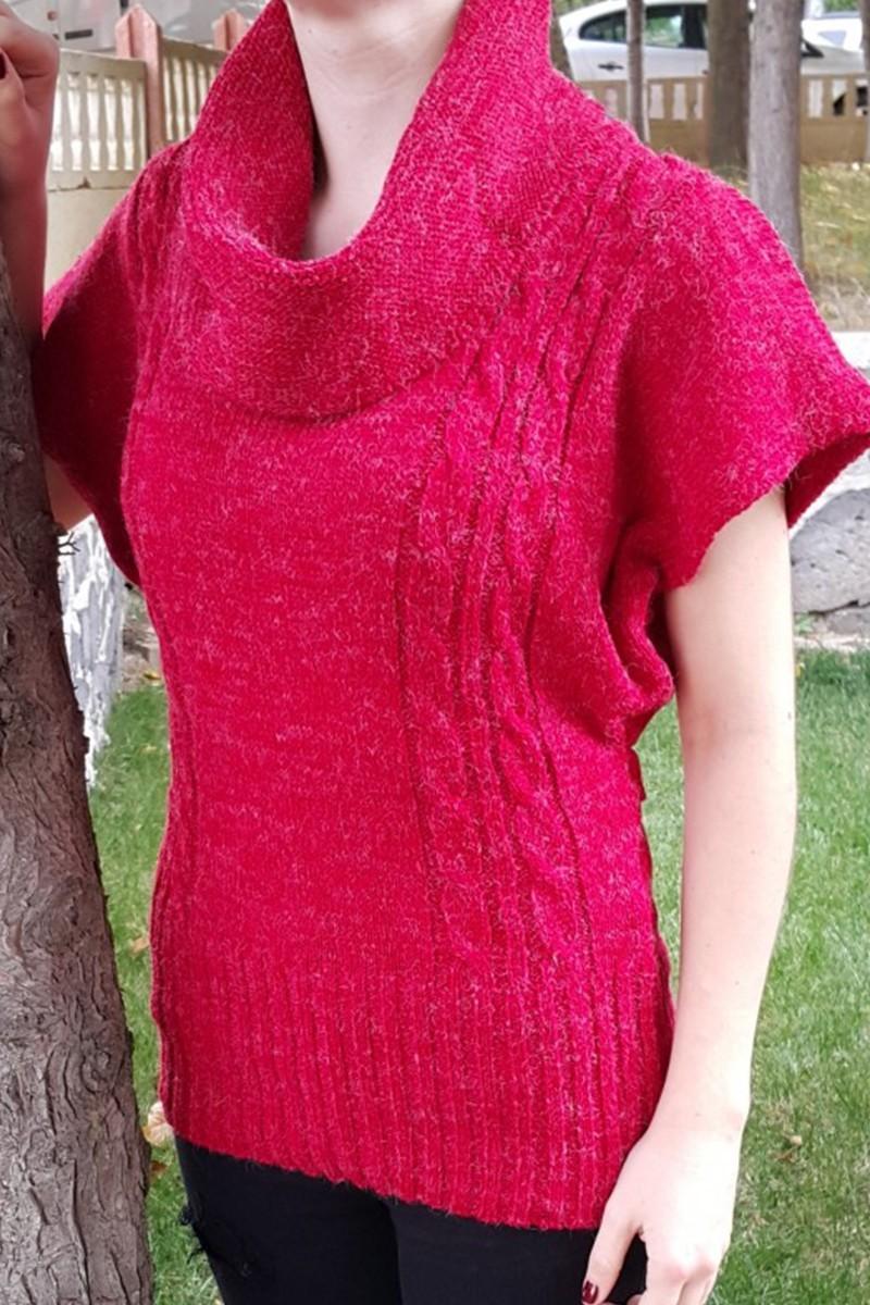 Yeni Elbisem Pembe YE-6724 Bayan Kazak