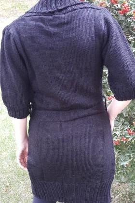 Yeni Elbisem Siyah YE-6710 Bayan Hırka