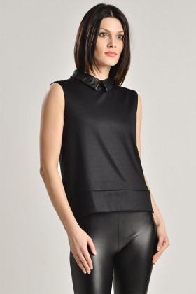 Yeni Elbisem Siyah YE-6624 Bayan Bluz