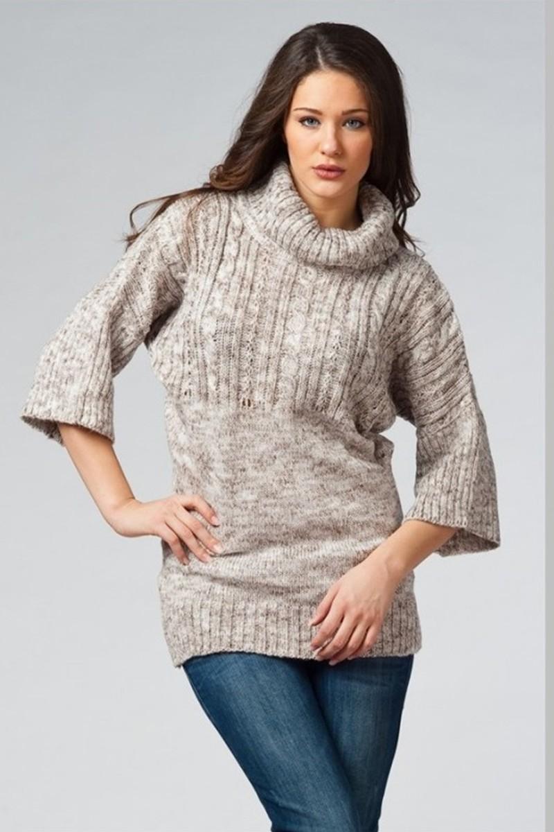Yeni Elbisem Vizon YE-4086 Bayan Hırka