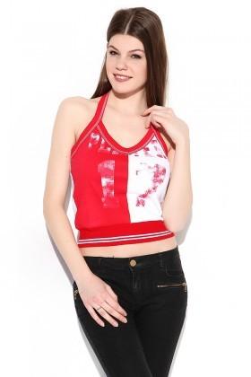 Yeni Elbisem Kırmızı YE-2055 Bayan Atlet