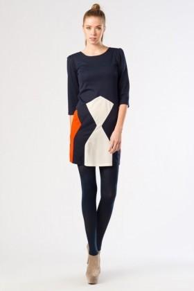 Yeni Elbisem Kahverengi YE-12K0007L Bayan Elbise