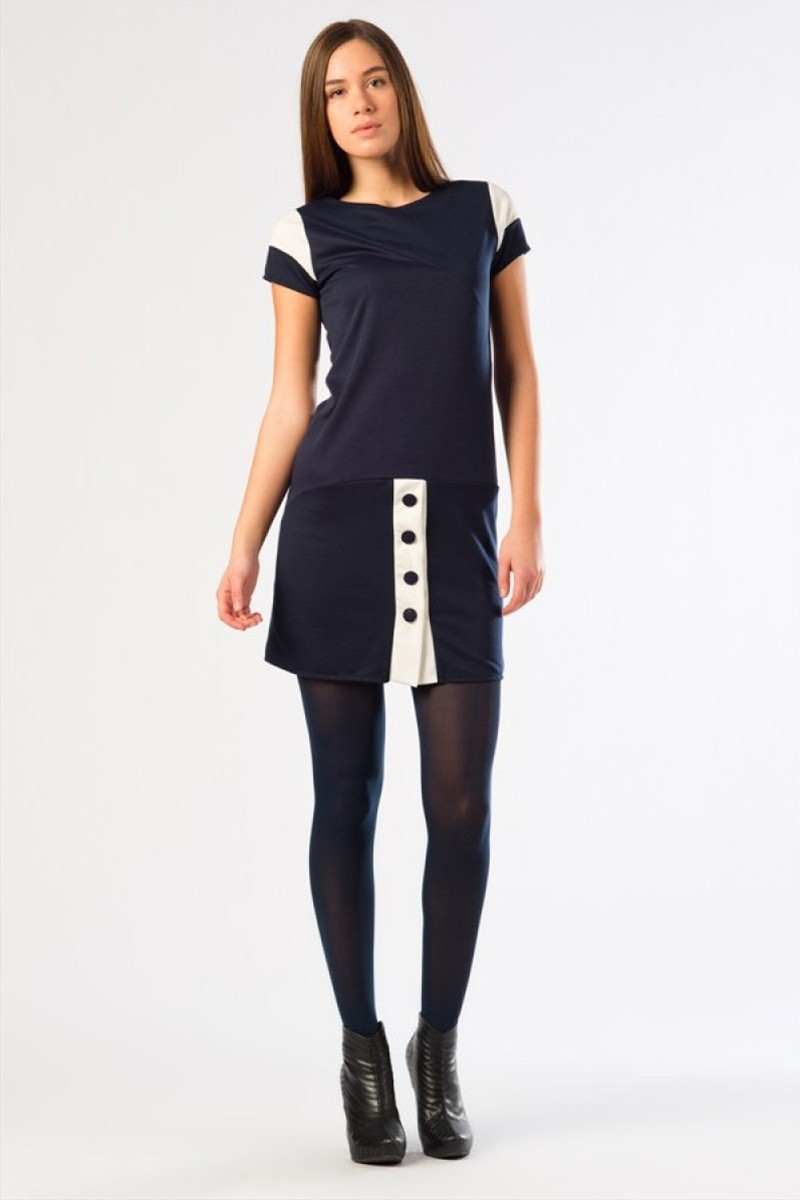 Yeni Elbisem Lacivert YE-12K003L Bayan Elbise
