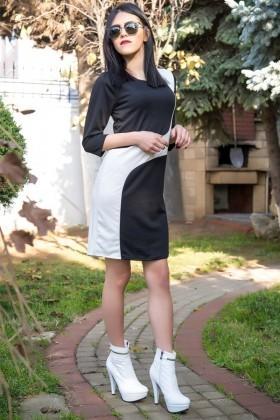 Yeni Elbisem Lacivert YE-12K002S Bayan Elbise