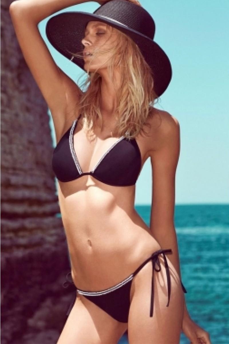 Yeni Elbisem Siyah YE-MY40904 Bikini