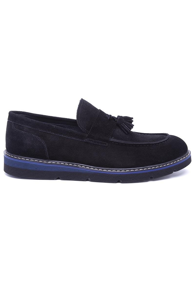 Wenetti Siyah WNT-1999-SUET Hakiki Deri Erkek Ayakkabı