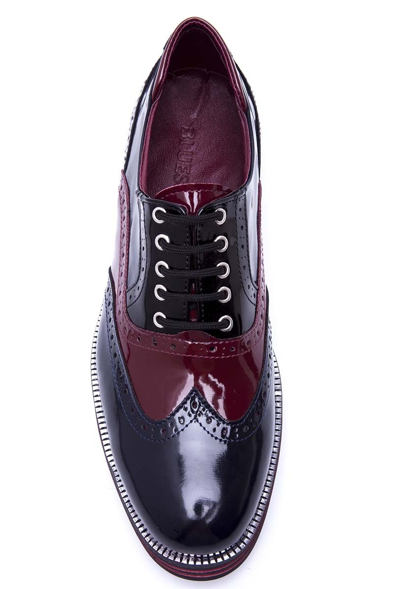 BLUESOIL Lacivert-Bordo BS-20-059 Erkek Ayakkabı
