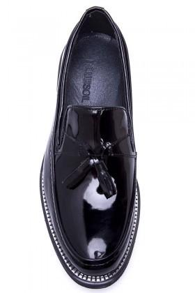 BLUESOIL Siyah BS-20-058-RGN Erkek Ayakkabı