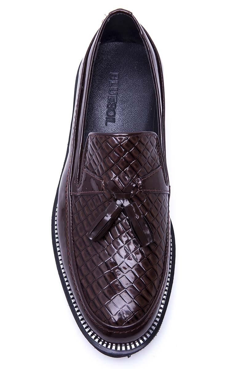 BLUESOIL Kahverengi BS-20-058 Erkek Ayakkabı