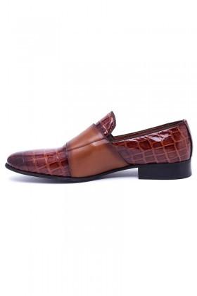 Wenetti Taba WNT-691 Hakiki Deri Klasik Erkek Ayakkabı