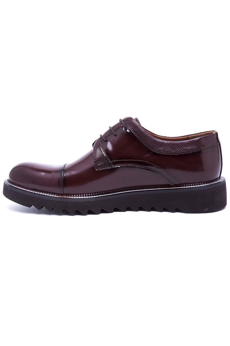 Wenetti Kahverengi WNT-695 Hakiki Deri Erkek Ayakkabı