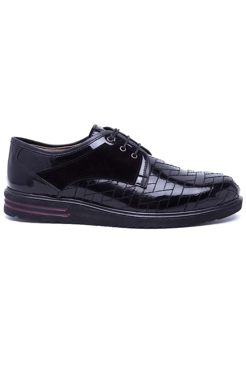Polomen Siyah PLM-050-RGN-SYH Erkek Ayakkabı