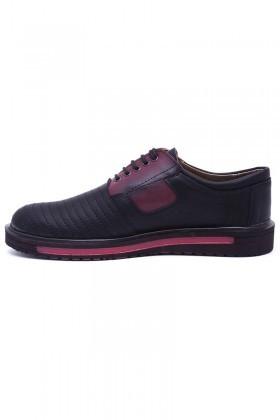 Polomen Siyah PLM-049 Erkek Ayakkabı