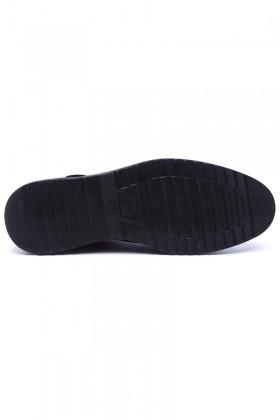 Polomen Siyah PLM-048 Erkek Ayakkabı