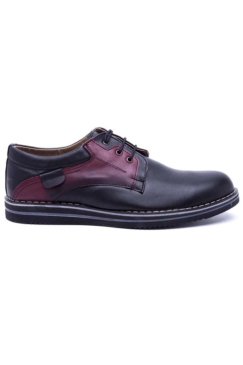 Polomen Siyah PLM-046 Erkek Ayakkabı