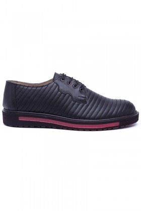 Polomen Siyah PLM-025-SYH Erkek Ayakkabı