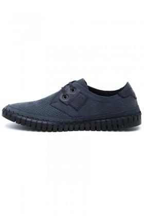 Pandew Mavi PNDW-2613-MAVI Hakiki Deri Erkek Ayakkabı