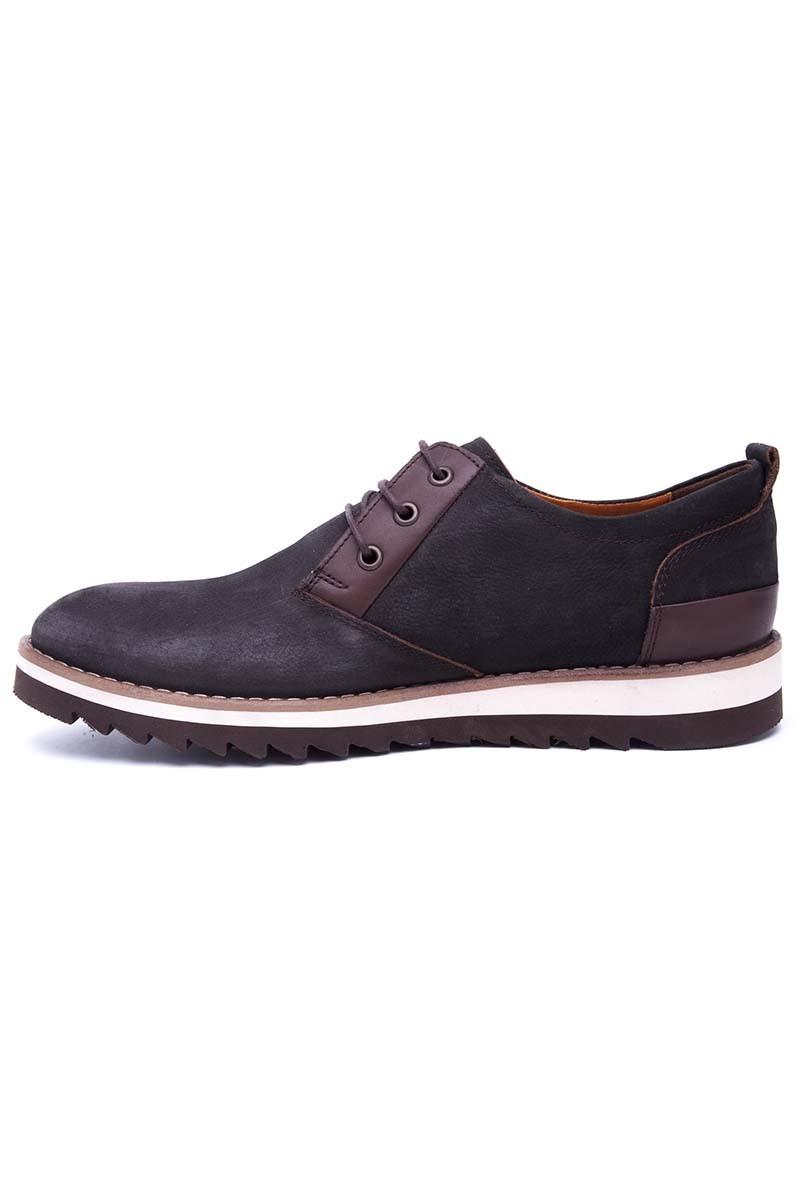 Pandew Siyah PNDW-111-SYH Hakiki Deri Erkek Ayakkabı