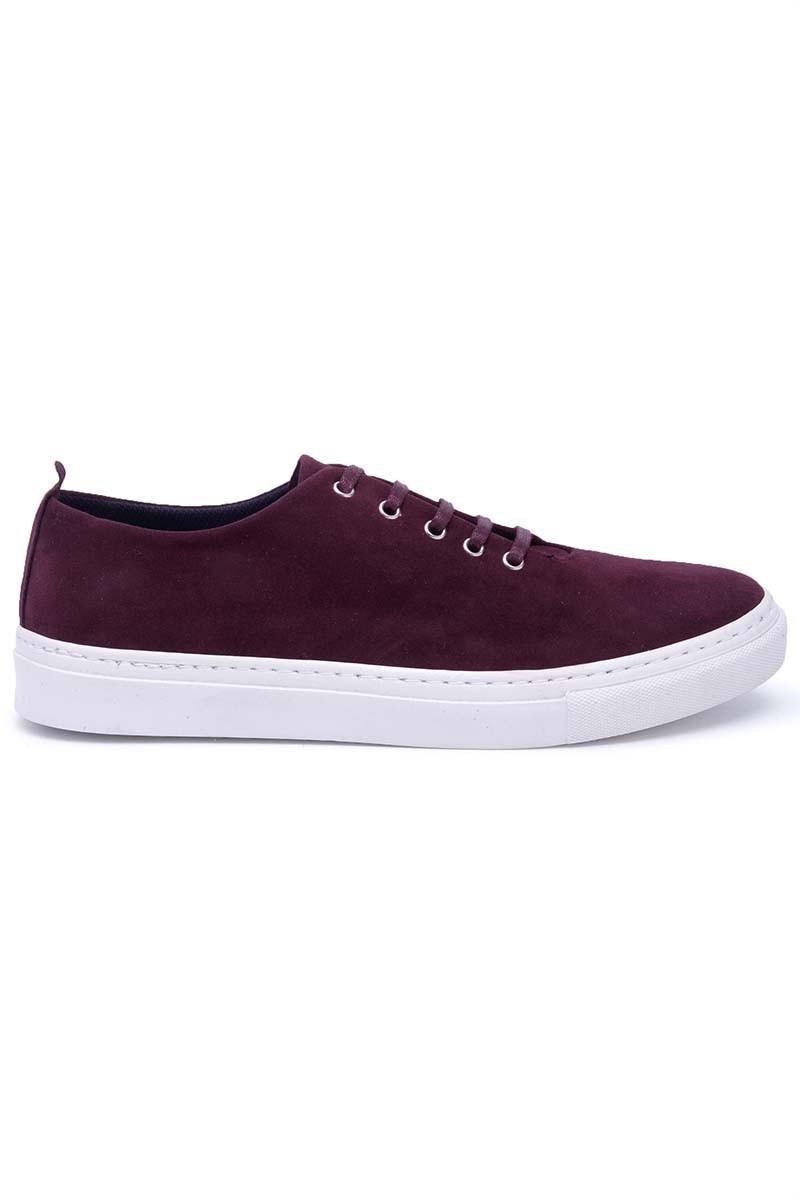 BLUESOIL Bordo BS-20-042-SUET Erkek Ayakkabı