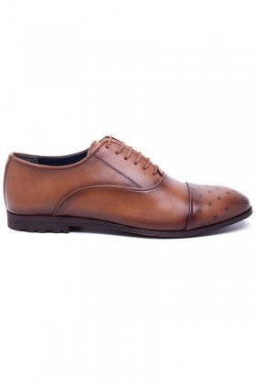 Three Star Taba TS-2131-TABA Hakiki Deri Erkek Ayakkabı