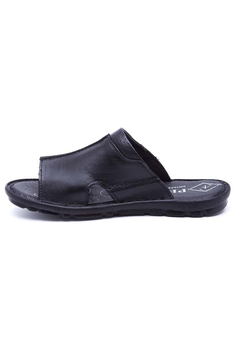 Peker Siyah PK-550-syh Hakiki Deri Erkek Terlik