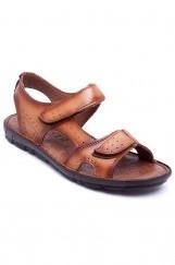 Hakiki Deri Erkek Sandalet