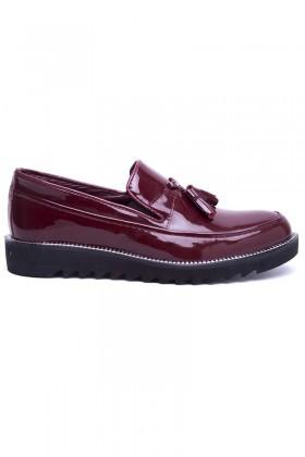 BLUESOIL Bordo BS-20-058-RGN Erkek Ayakkabı