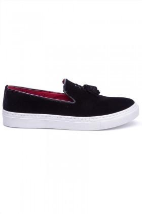 BLUESOIL Siyah BS-20-045-SUET Erkek Ayakkabı