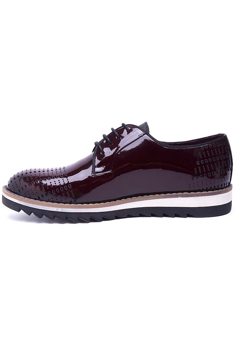 Pandew Kahverengi PNDW-800-10 Hakiki Deri Erkek Ayakkabı