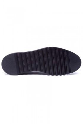 Wenetti Siyah WNT-225 Hakiki Deri Erkek Ayakkabı