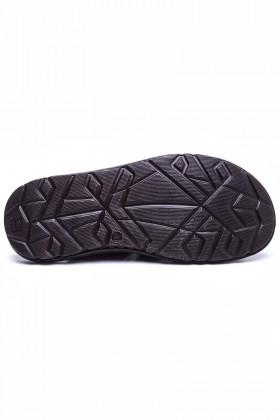 Peker Kahverengi PK-200 Hakiki Deri Erkek Sandalet