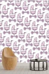 Çocuk Odası Balon Duvar Kağıdı