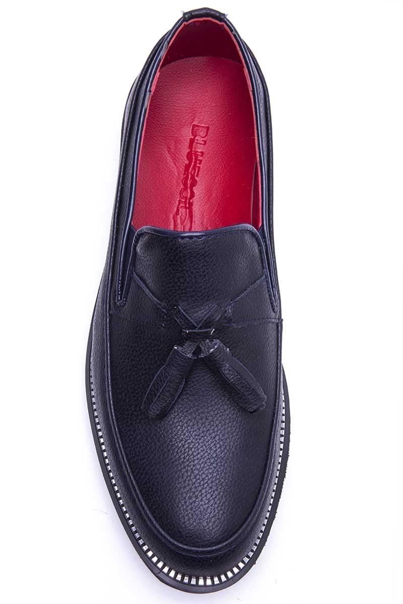 BLUESOIL Lacivert BS-20-058-DERI Erkek Ayakkabı