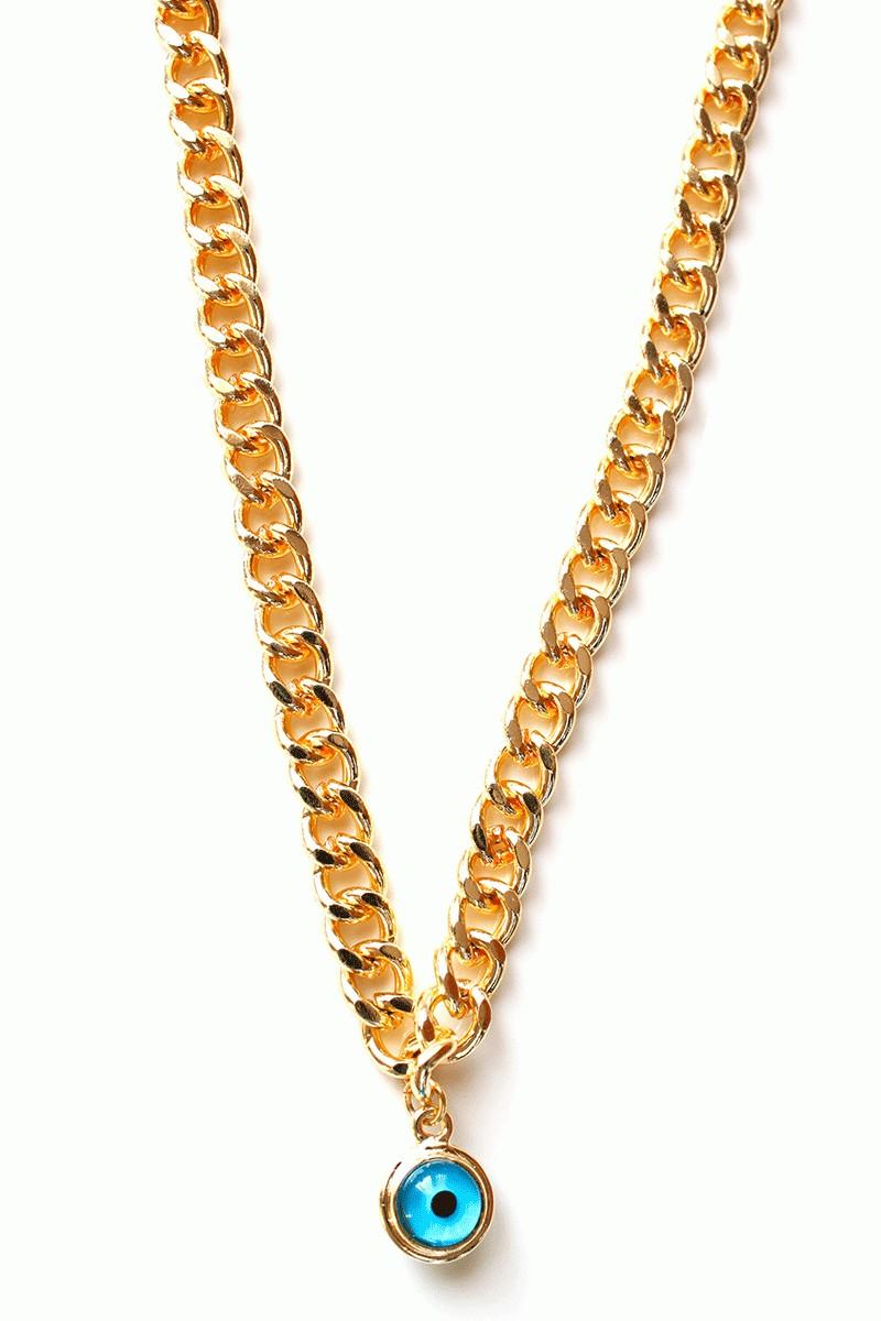 Menessa Altın Sarısı MS-BG2301 Zincir Kolye